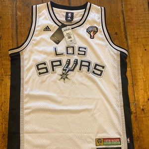 Blank Noche Latina San Antonio NBA Spurs Jersey